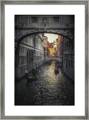 Sigh Framed Print by Chris Fletcher