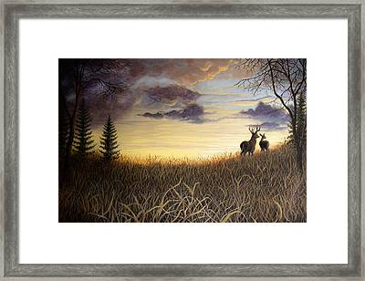 Sigh Seven Framed Print by Kimberly Benedict
