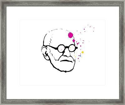 Sigmund Freund, Austrian Psychologist Framed Print by Smetek