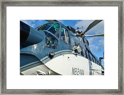 Sikorsky S-61n Framed Print by Lynda Dawson-Youngclaus