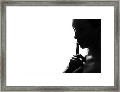 Silence Framed Print by Fine Arts
