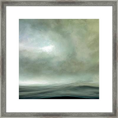 Silence Of The Deep Framed Print by Lonnie Christopher