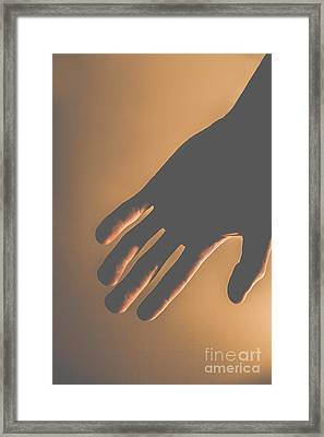 Silence Of The Hands Framed Print by Jorgo Photography - Wall Art Gallery