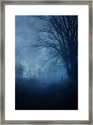 Silence Framed Print by Cambion Art