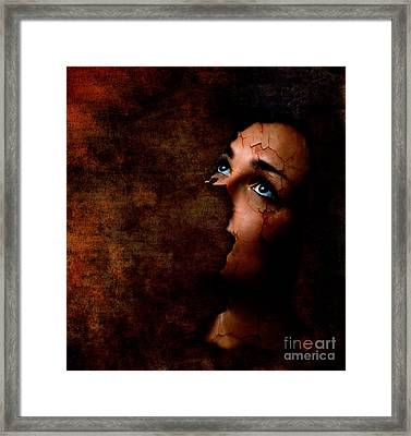 Silenced Framed Print by Jacky Gerritsen