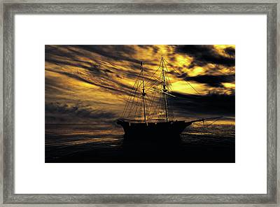 Silent Afternoon Framed Print by Bob Orsillo