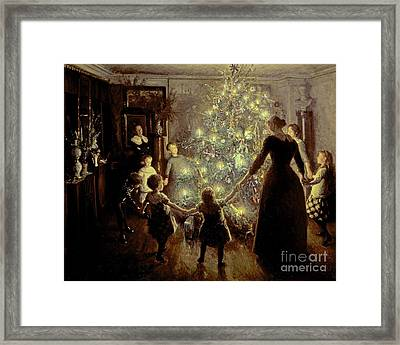 Silent Night Framed Print by Viggo Johansen