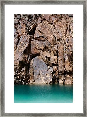 Silent Rocks Framed Print by Konstantin Dikovsky
