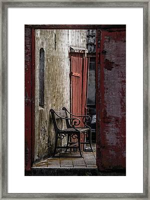 Silent Space Framed Print by Odd Jeppesen