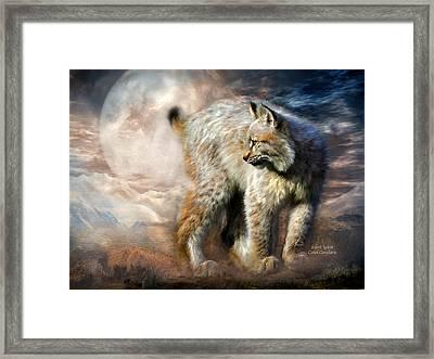 Silent Spirit Framed Print by Carol Cavalaris