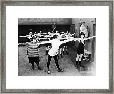 Silent Still: Gymnasium Framed Print by Granger