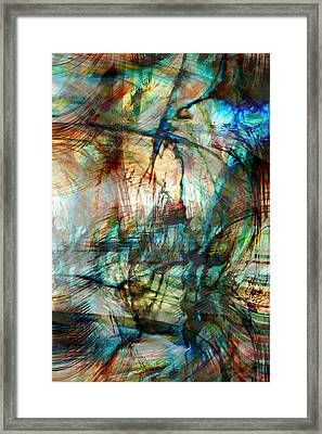 Silent Warrior Framed Print by Linda Sannuti