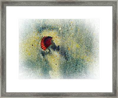 Silica Framed Print by Robert Ponzoni