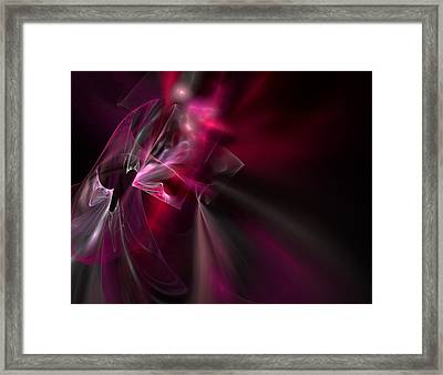 Silk Framed Print by Brainwave Pictures