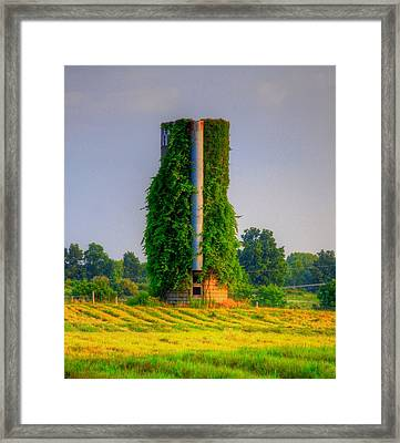 Silo Framed Print by Robert Pearson