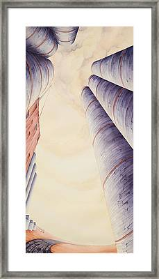 Silos Iv Framed Print by Scott Kirby