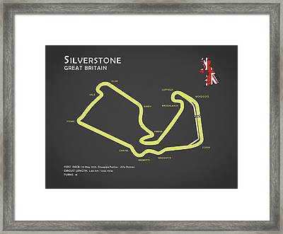 Silverstone Framed Print by Mark Rogan