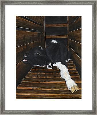 Simon Framed Print by Twyla Francois