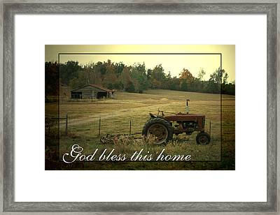 Simple Life Framed Print by Linda Fowler
