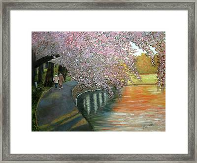 Simple Pleasures Framed Print by Robin Chaffin