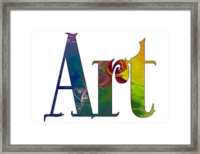 Simple Things Art By Omashte Framed Print by Omaste Witkowski