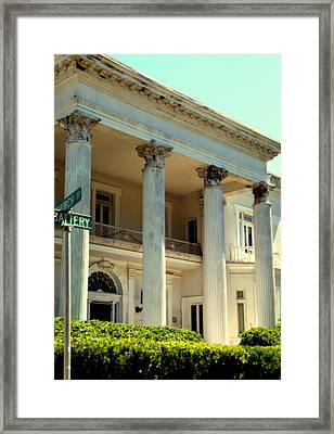 Simply Charleston Framed Print by Karen Wiles