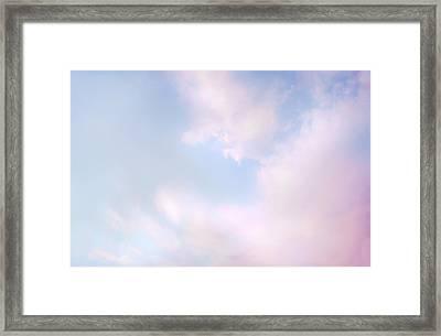 Simply Heavenly Framed Print by Theresa Tahara