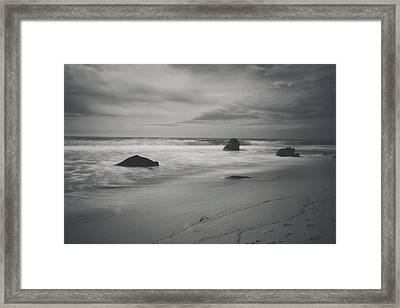Since Our Last Goodbye Framed Print by Laurie Search