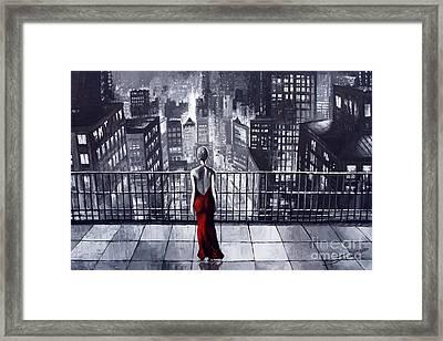 Sincity Framed Print by Yuriy  Shevchuk