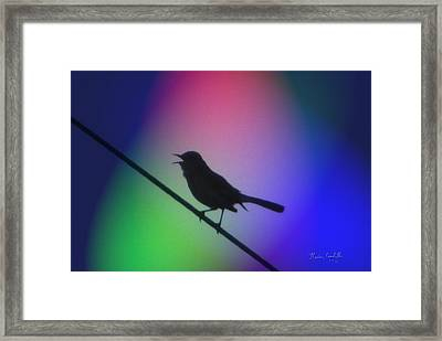 Sing A Song Framed Print by Kevin Caudill