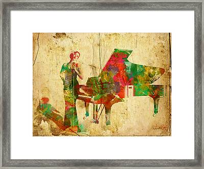 Sing It Baby One More Time Framed Print by Nikki Smith