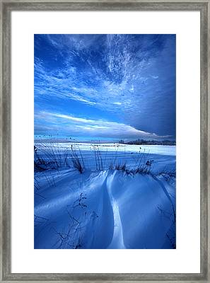 Singing The Blues Framed Print by Phil Koch