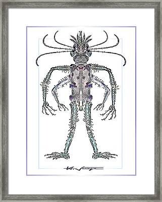 Single  Alien Framed Print by Hartmut Jager