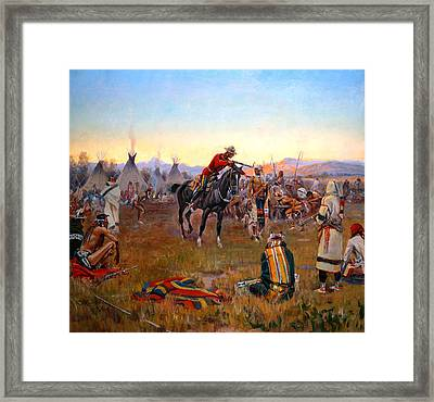 Single -  Handed Framed Print by Mountain Dreams