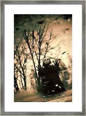 Sinister Framed Print by Joanna Jankowska