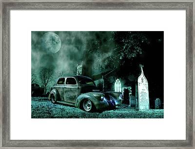 Sinister Framed Print by Steven Agius
