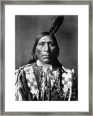Sioux Man, C1907 Framed Print by Granger