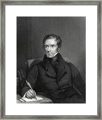 Sir Benjamin Collins Brodie 1783 To Framed Print by Vintage Design Pics