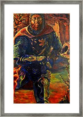 Sir Gaiwan Framed Print by David Matthews