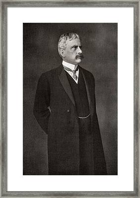 Sir Robert Laird Borden 1854 To 1937 Framed Print by Vintage Design Pics