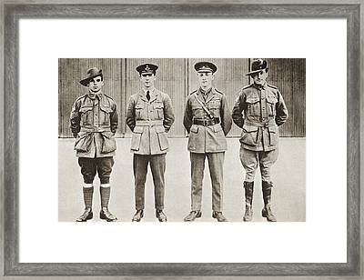 Sir Ross Macpherson Smith,  Third From Framed Print by Vintage Design Pics