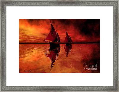Siren Song Framed Print by Corey Ford