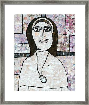 Sister Framed Print by Carol Cole