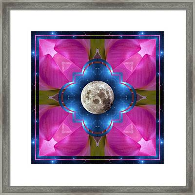 Sister Moon Framed Print by Bell And Todd