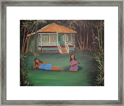 Sisters Framed Print by Bob Hasbrook