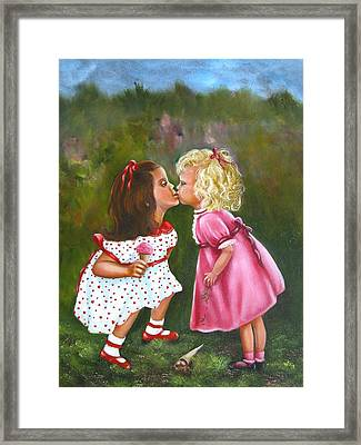 Sisters Framed Print by Joni McPherson