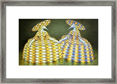 Sisters Framed Print by Lolita Bronzini