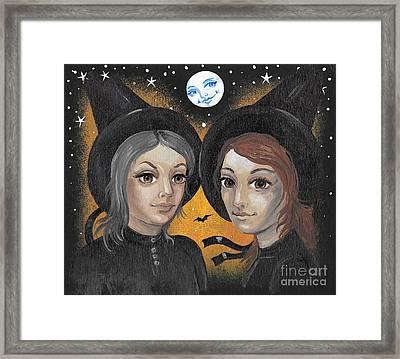 Sisters  Framed Print by Margaryta Yermolayeva