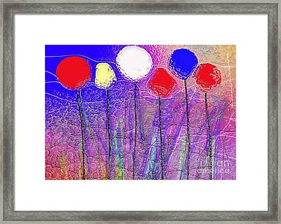 Six In A Row Framed Print by Mimo Krouzian