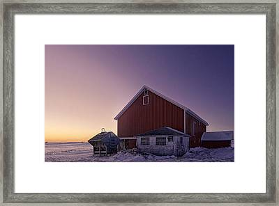 Sixteen Degrees Framed Print by Kevin Schuchmann